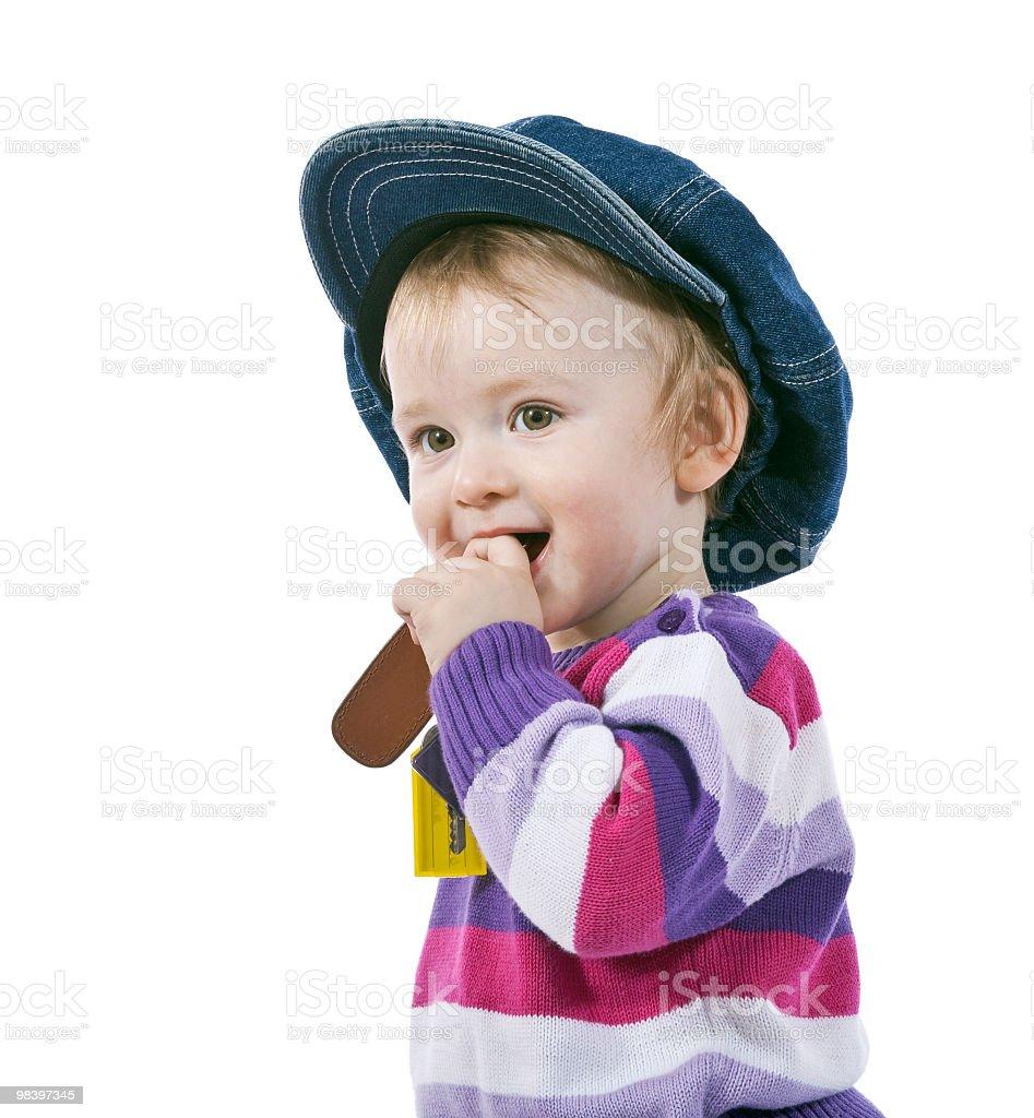 Small boy smile royalty-free stock photo