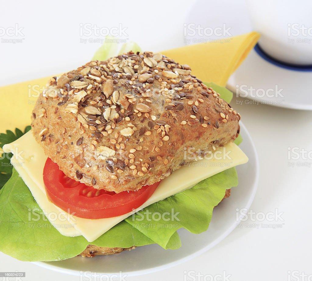 Small breakfast royalty-free stock photo