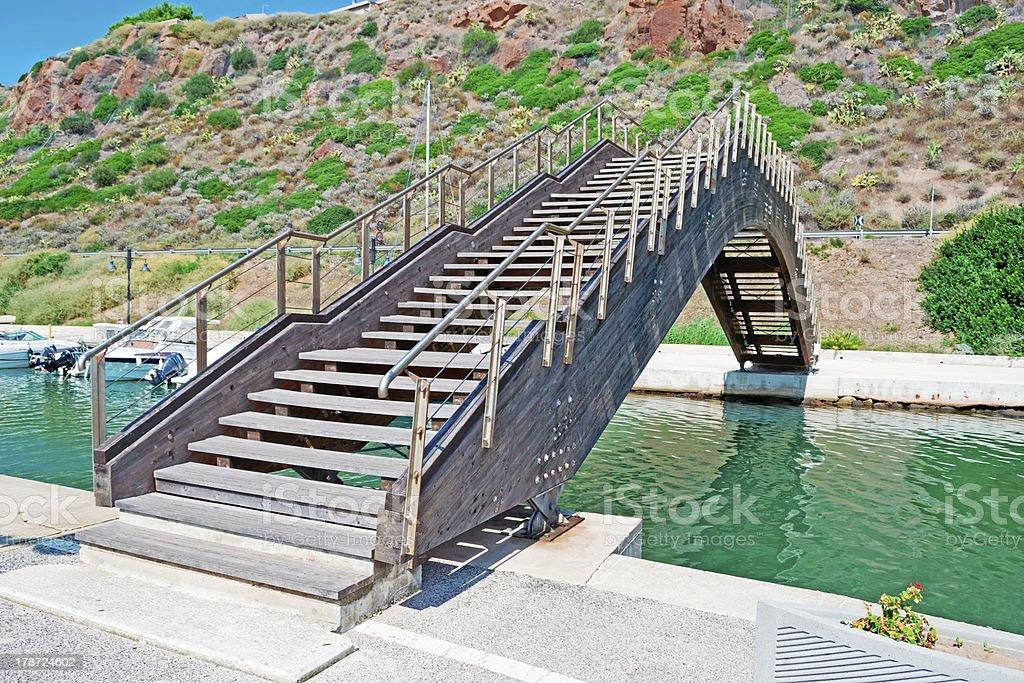 small bridge royalty-free stock photo