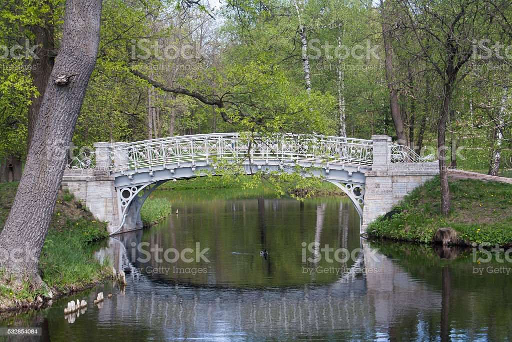 small bridge stock photo