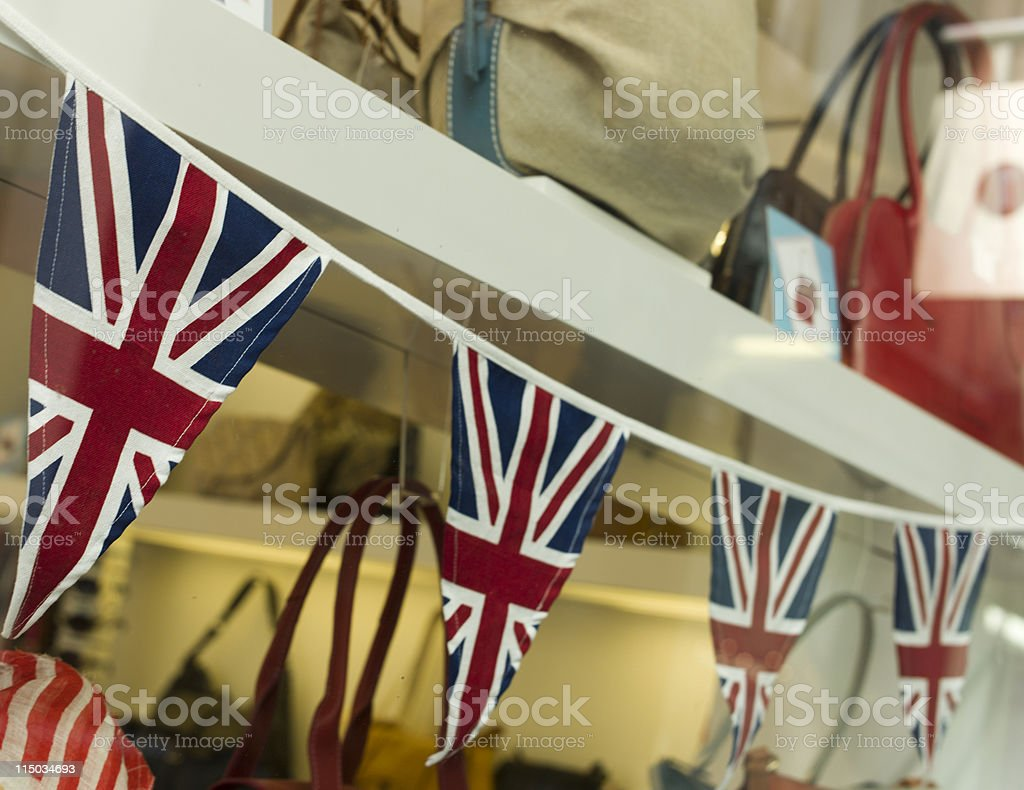 Small British Flags royalty-free stock photo