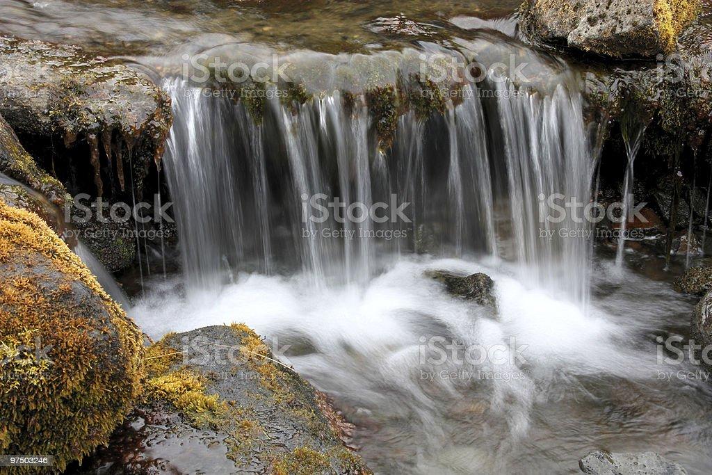 Small brook royalty-free stock photo
