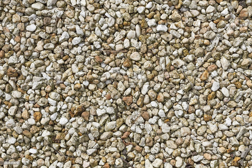 Small brown and yellow pebbles royalty-free stock photo