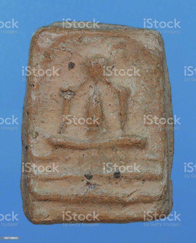 Small buddha 31 royalty-free stock photo