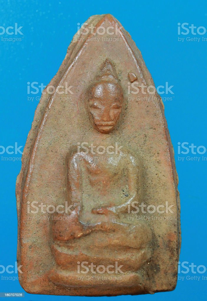 Small buddha 33 royalty-free stock photo