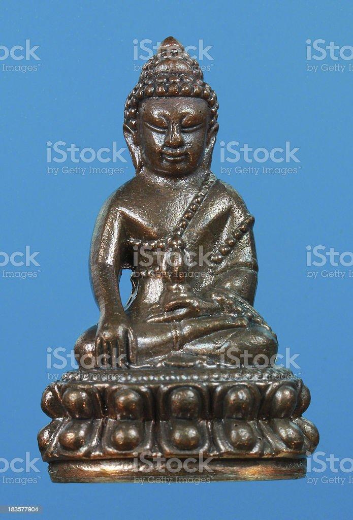 Small buddha 56 royalty-free stock photo