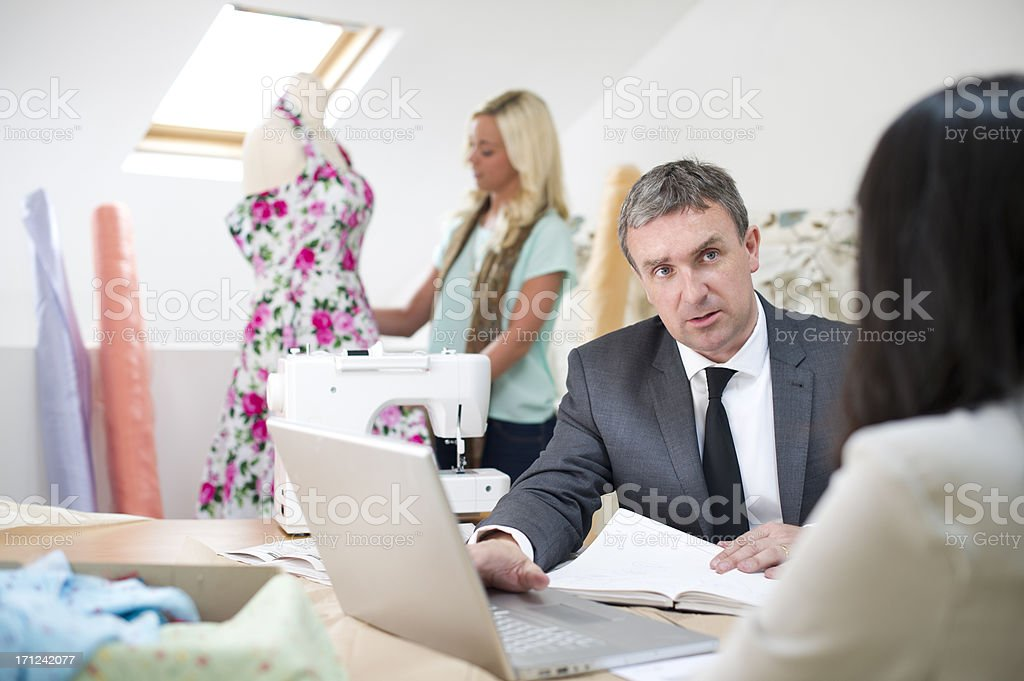 small business advice royalty-free stock photo