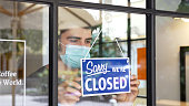 istock Small business closing during COVID-19 pandemic 1248968483