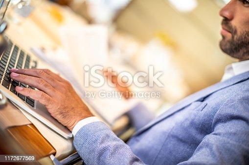 Small entrepreneurship being led from a restaurant.