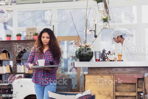 Small business employees working at a cafe picture id687406016?b=1&k=6&m=687406016&s=612x612&h=r5msffhkxruufdjjfhrvfr2ppjbnmsksj1 7kpxb7uc=