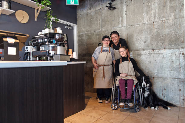 Kleinunternehmen Familie erstellt für Menschen deaktivieren – Foto
