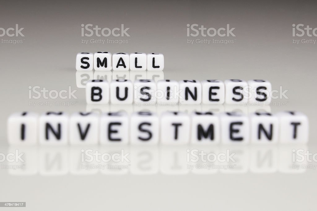 Small Business investment royalty-free stock photo