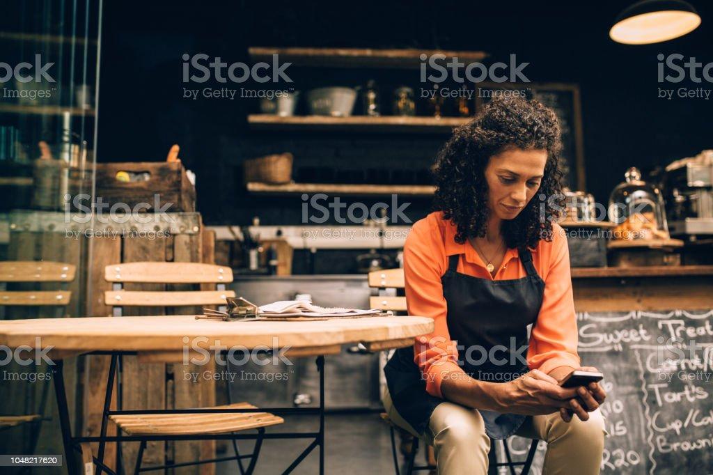 Gestion des petites entreprises avec tech mobile - Photo