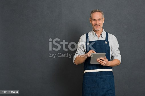 istock Small business owner 901093404