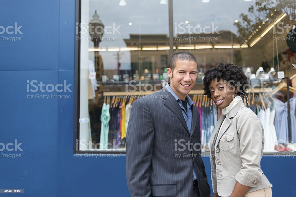 Small Business Partners royalty-free stock photo