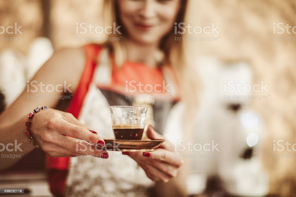 Small business - pastry shop royalty-free stock photo