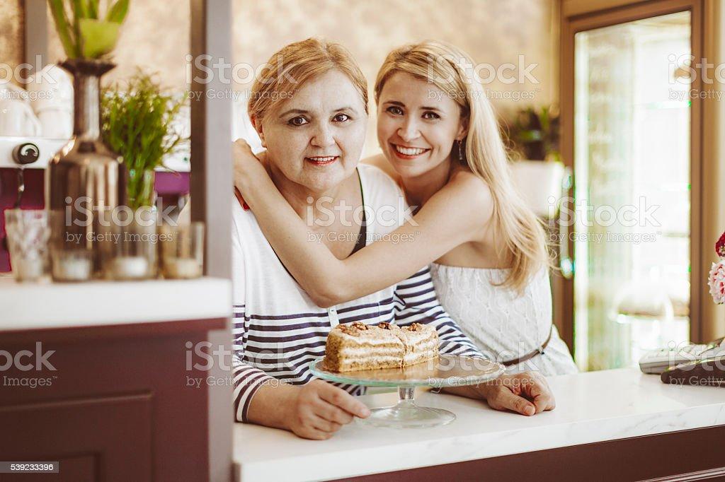 Pequenas empresas-pastry loja foto royalty-free