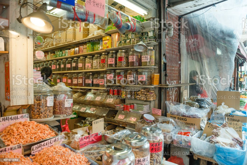 Small Business Retail Display At Chinatown Market In Nyc Stock Photo Download Image Now Istock
