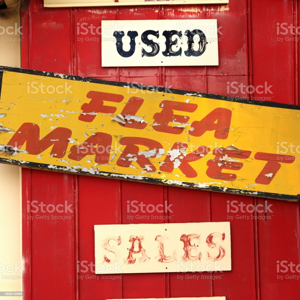 small business sign stock photo