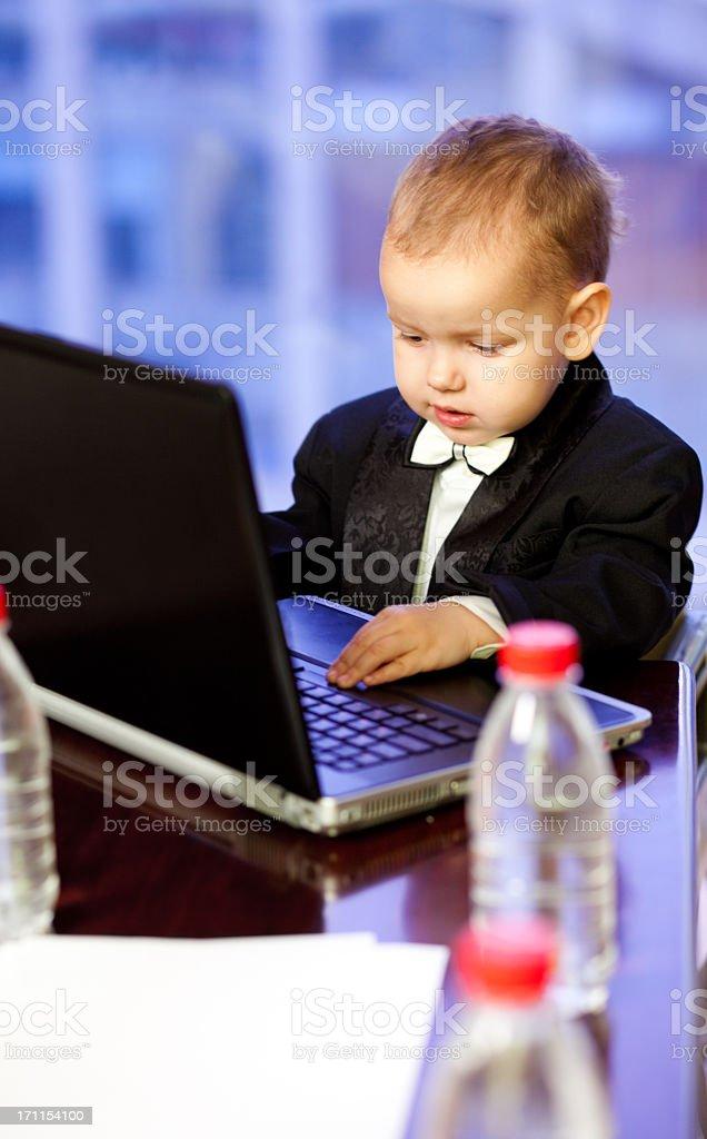 Small businessman royalty-free stock photo