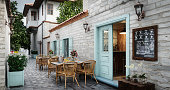 istock Small Café Exterior 1280031933