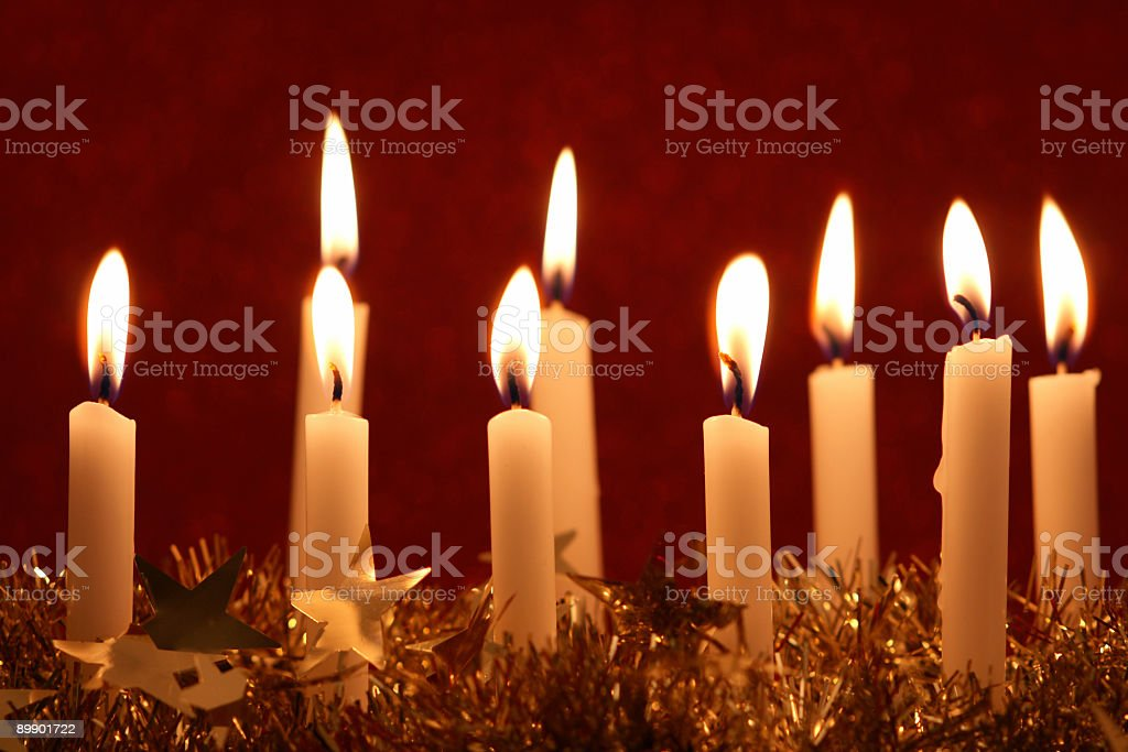 Small Candles royalty-free stock photo