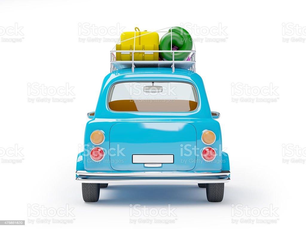 Kleine car-Abenteuer auf – Foto