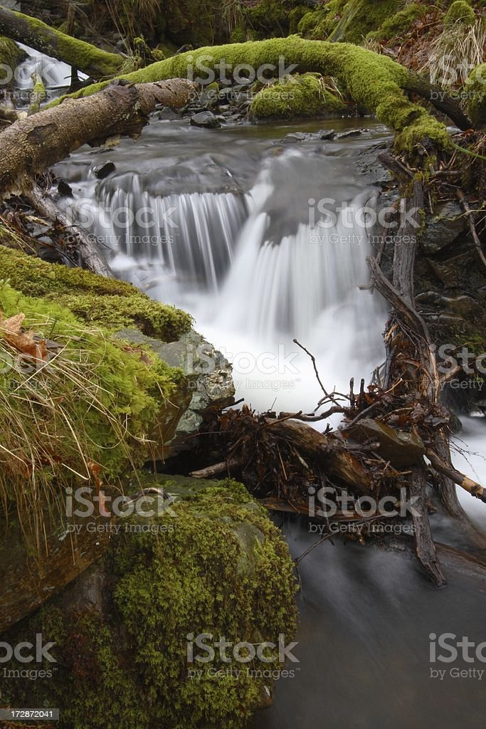 Small cascade stock photo