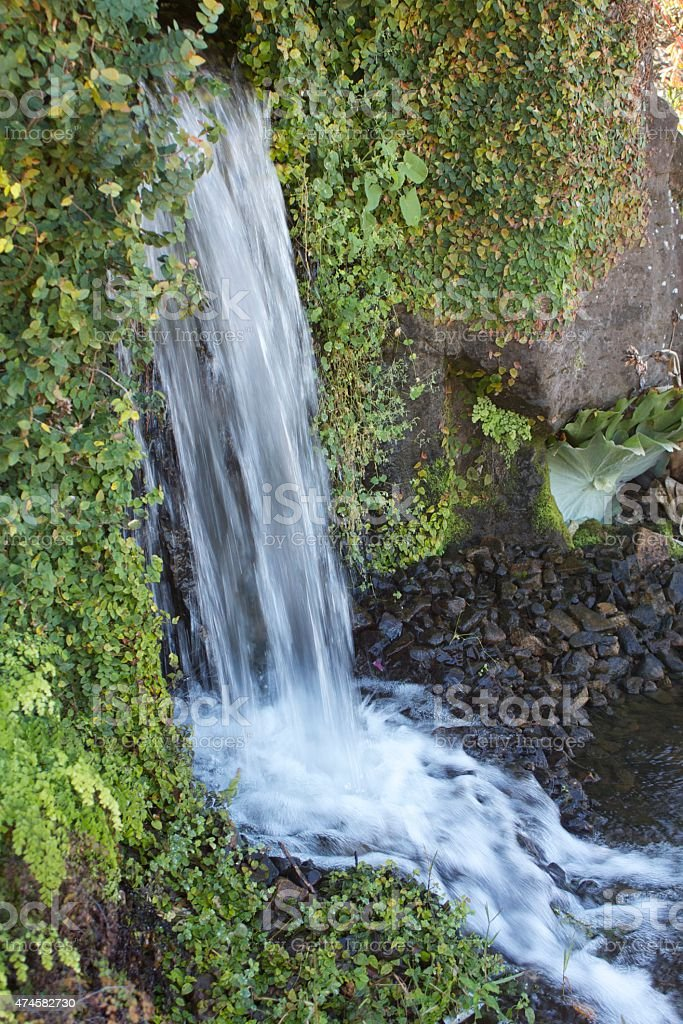 Small Cascading Waterfall stock photo