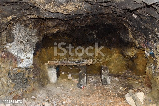 A small cave on Fruska gora in Serbia