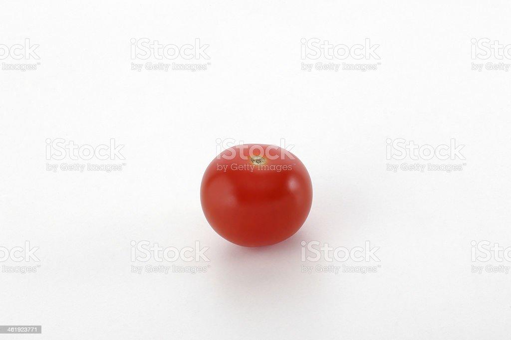 Small cherry tomatoe stock photo