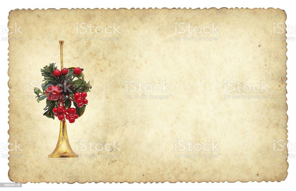 small christmas frame royalty-free stock photo