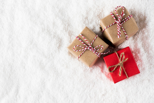 Small Christmas Homemade Gifts Stock Photo - Download Image Now