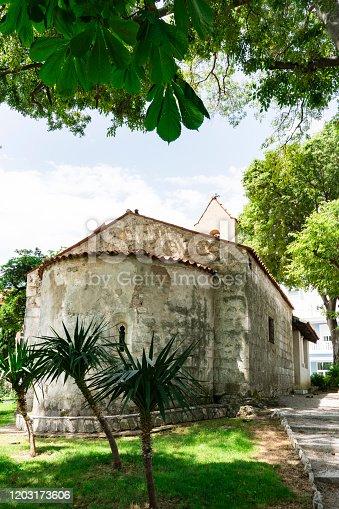 Church in Lovran, Istria, Croatia,
