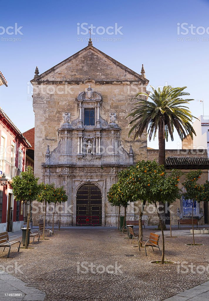 Small Church in Cordoba royalty-free stock photo