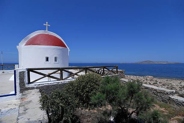 Kleine Kirche in Kasos island, Griechenland – Foto