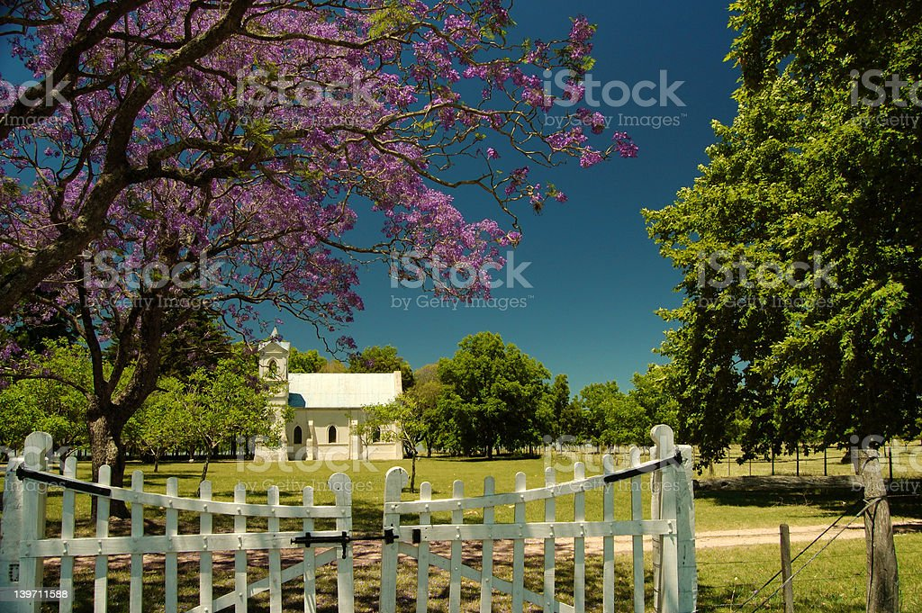Small church royalty-free stock photo