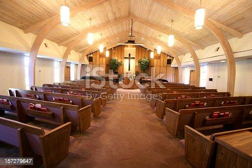 istock Small Church Sanctuary 157279647