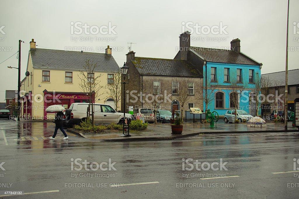 Kilbeggan, County Westmeath, Ireland - April 2, 2014. Traditional...