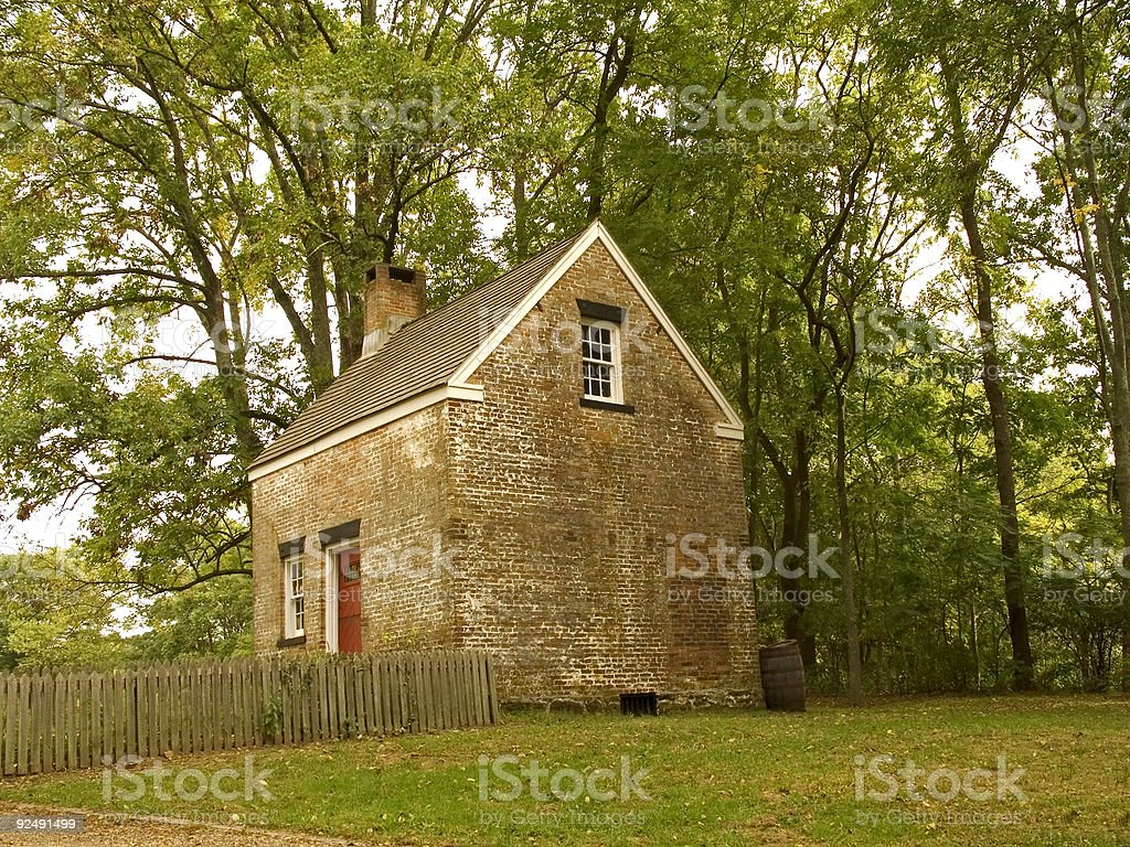 Small Colonial royalty-free stock photo