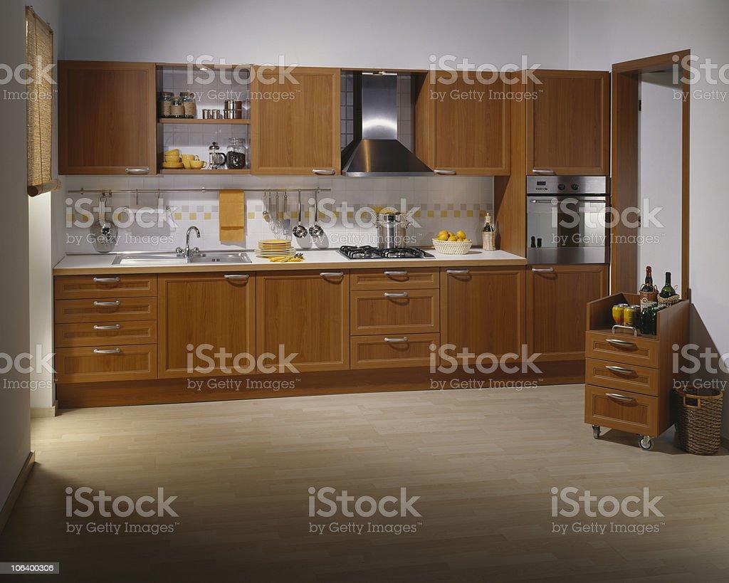 Small Condo Kitchen stock photo