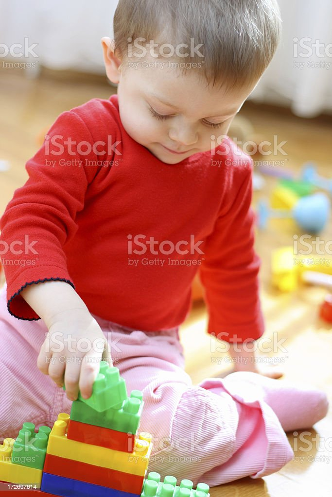 Small constructor royalty-free stock photo