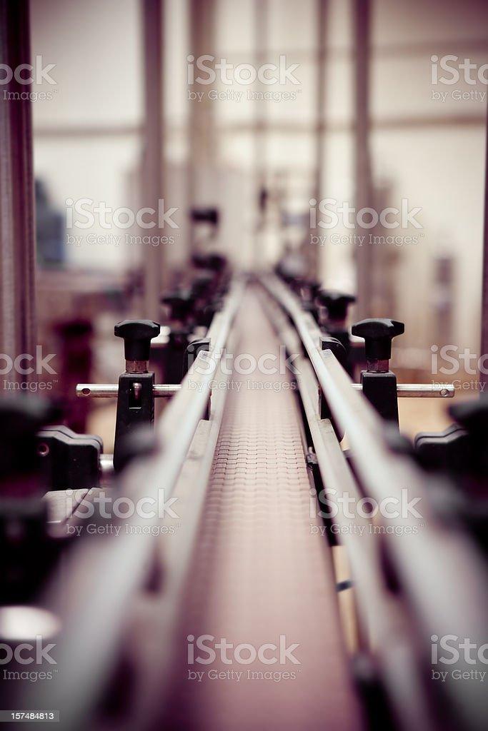 Small Conveyor Belt stock photo