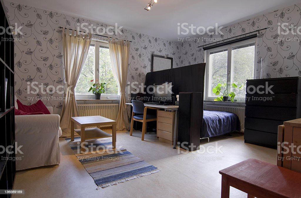 Small Cosy Apartment stock photo