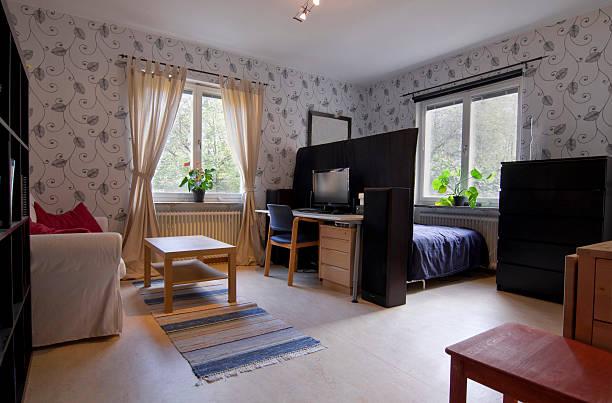 Small Cosy Apartment bildbanksfoto