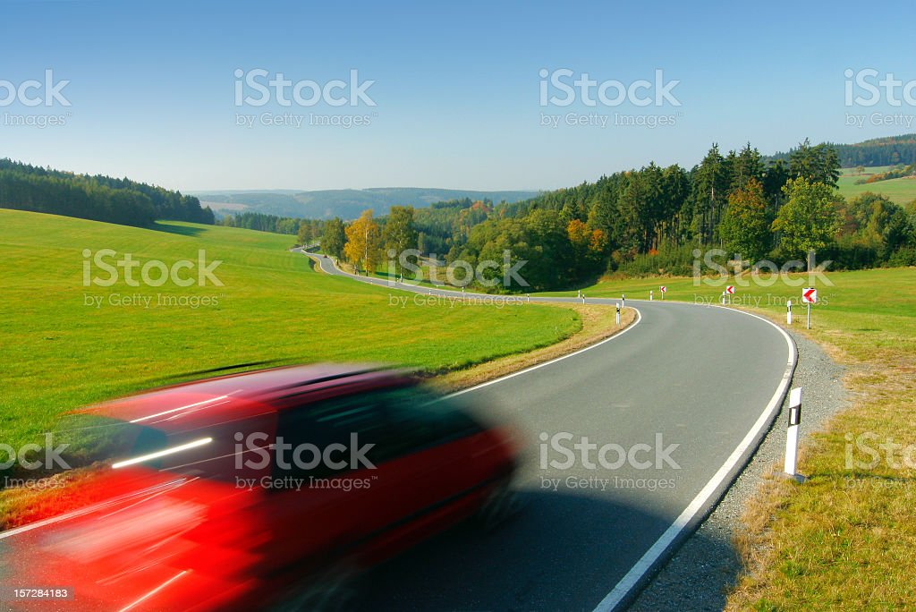 Small Country Road II royalty-free stock photo