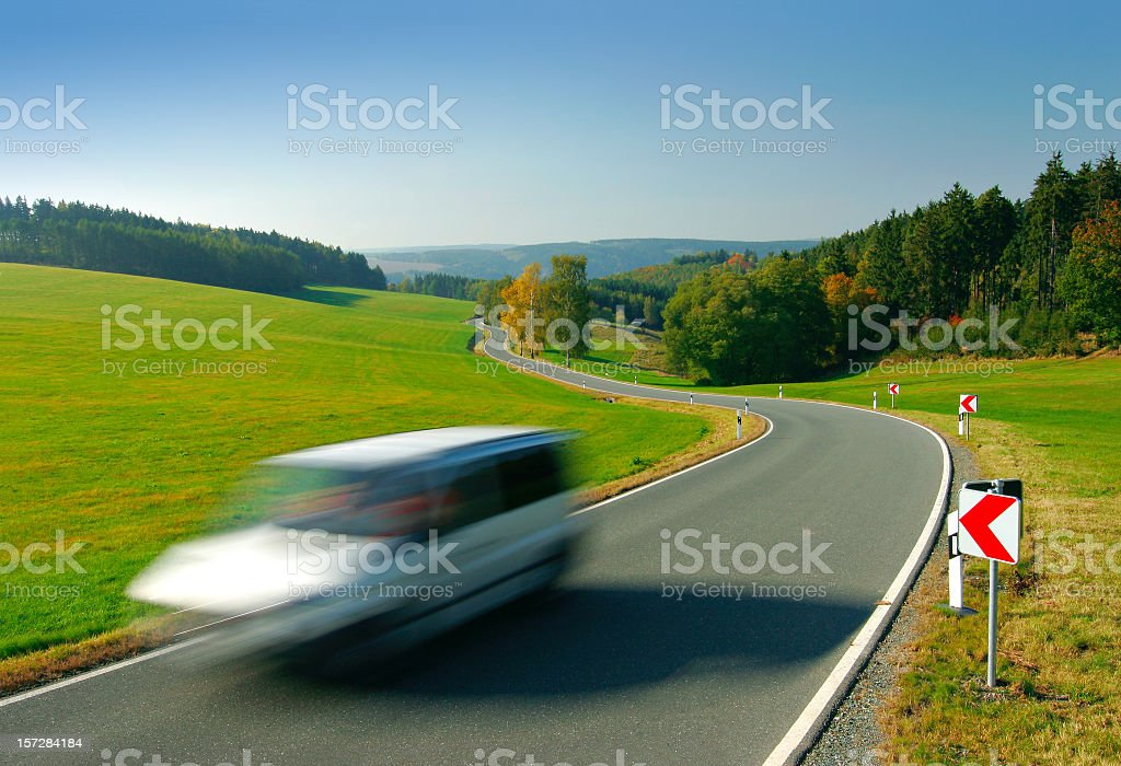 Small Country Road III royalty-free stock photo