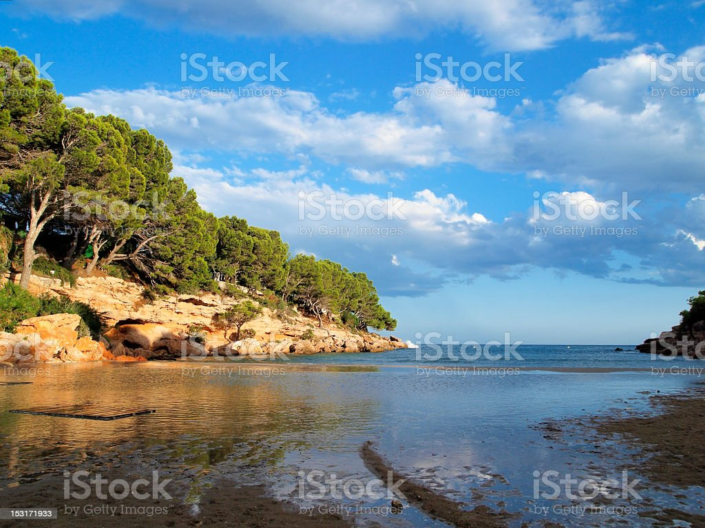 Small cove royalty-free stock photo