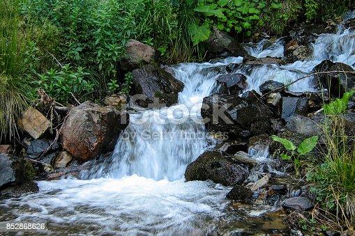 Toplica river near its source, Serbia