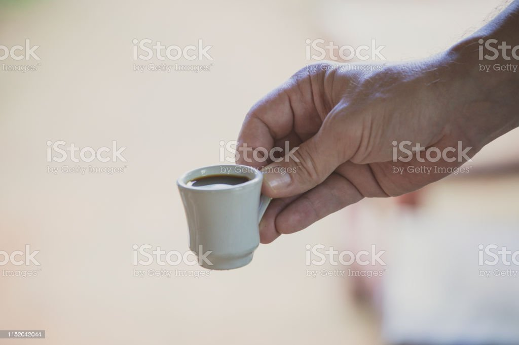 Small Cup of Coffee - Royalty-free Coffee - Drink Stock Photo